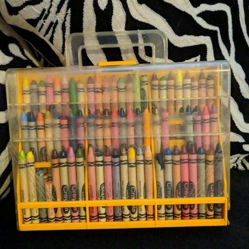 Vintage 80s Crayola Case