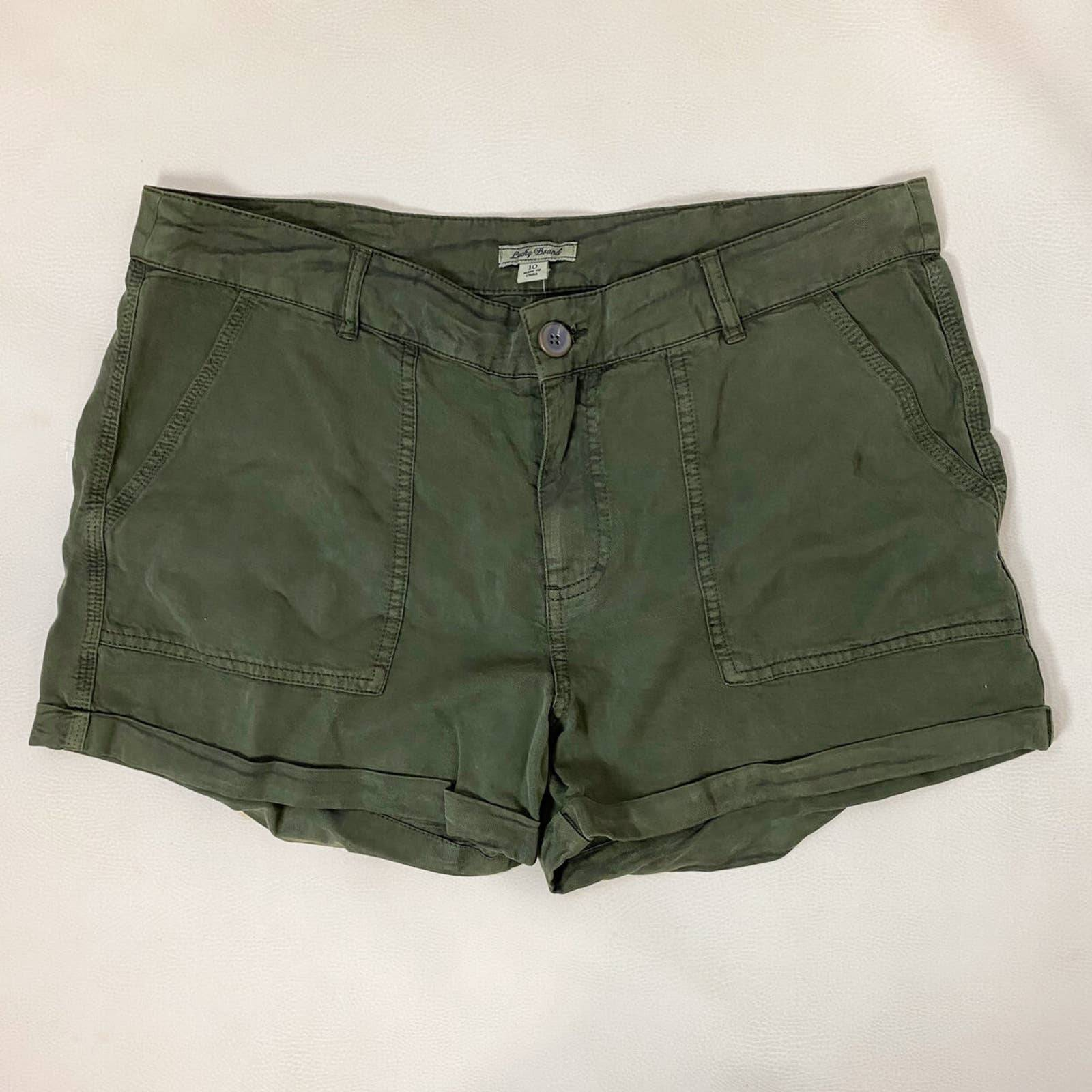 NWT Lucky Brand Green Shorts