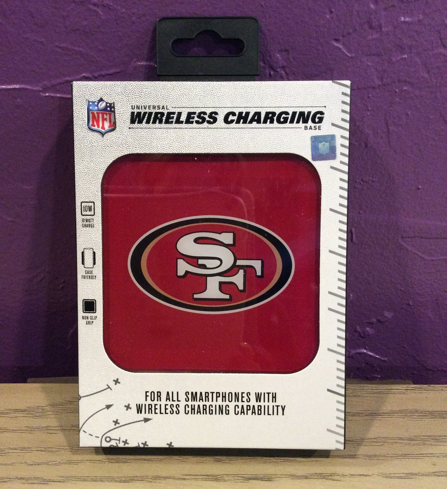 NFL San Francisco 49ers Wireless Charger