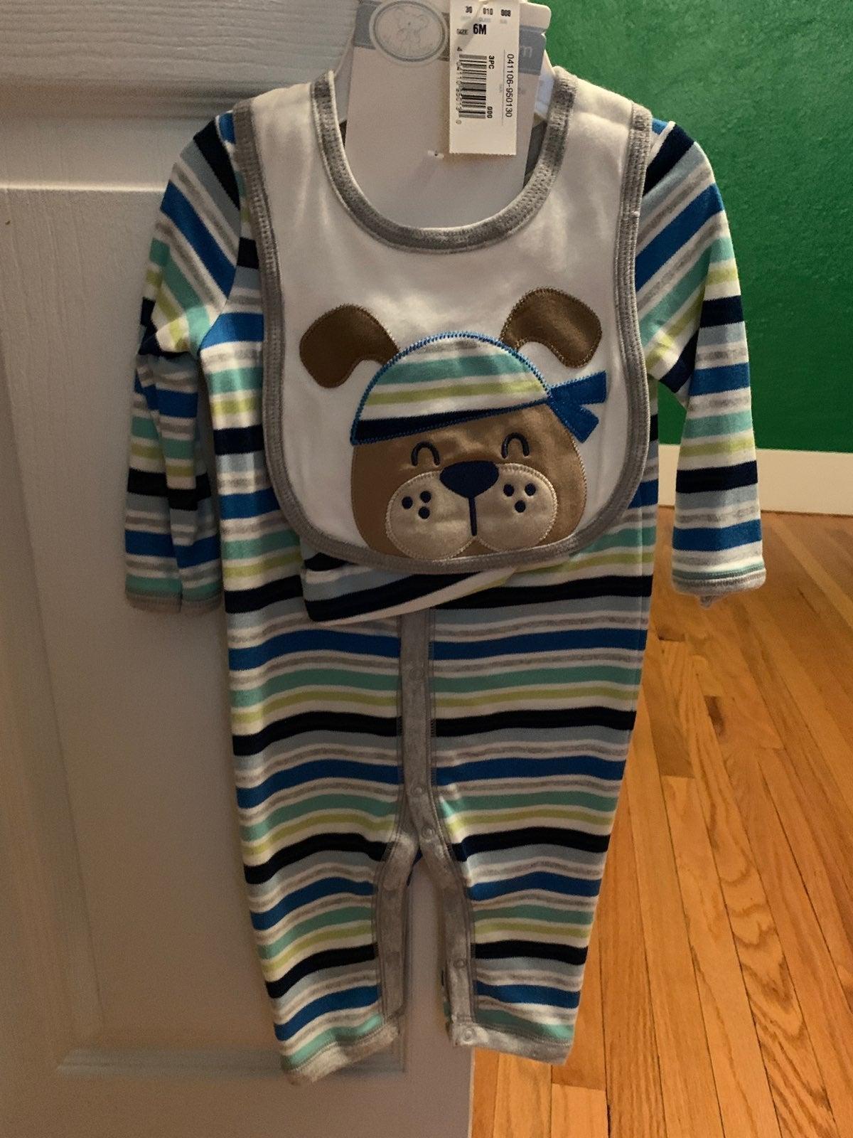 Koala Baby 3 piece set: PUPPY 6m