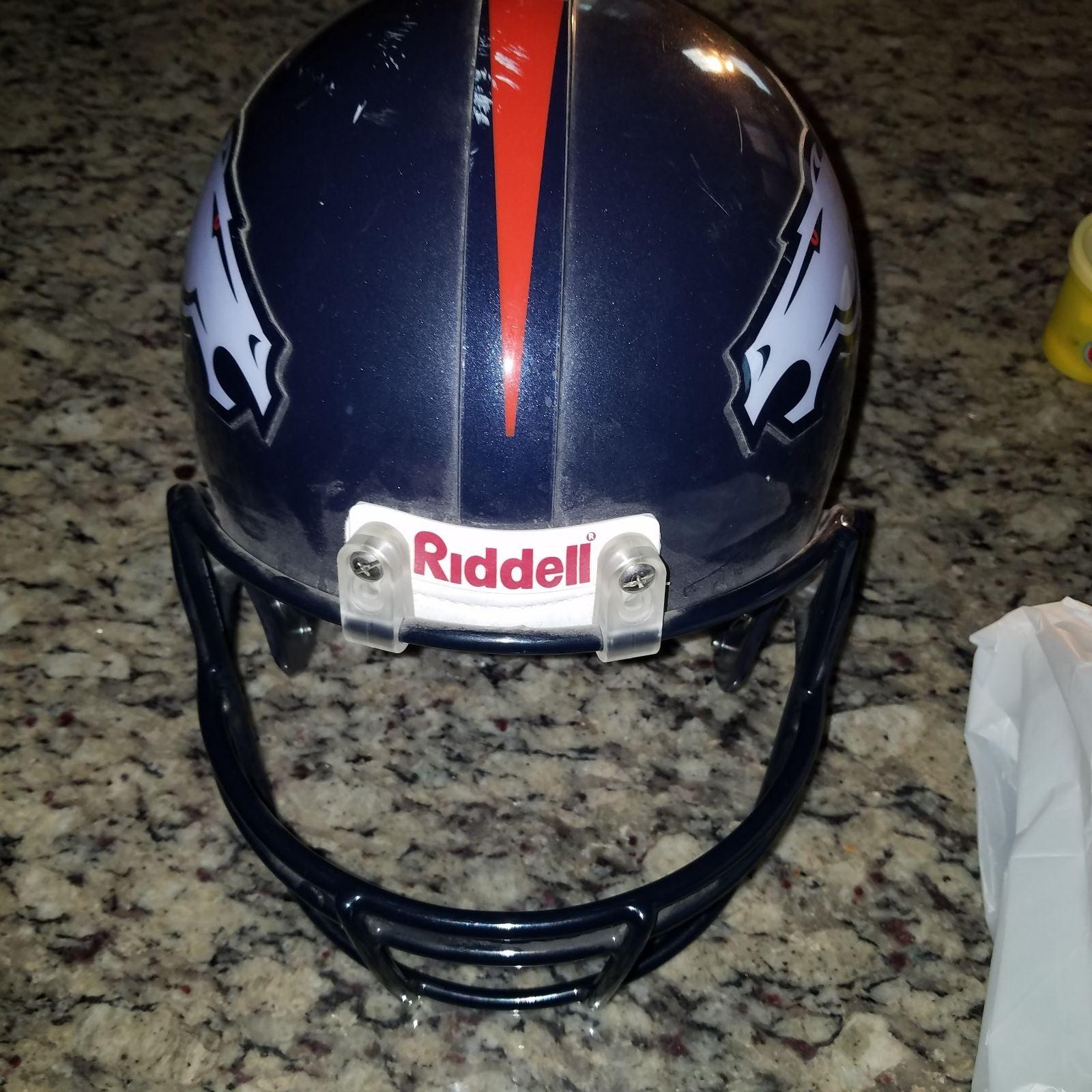 Vintage Scale Replica Broncos Helmet