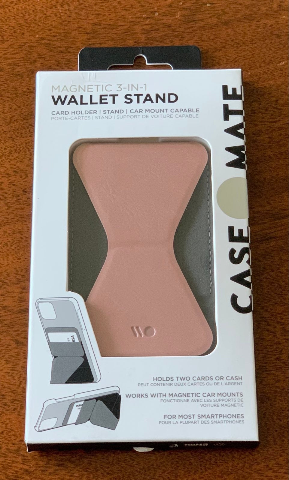 Casemate Magnetic 3-in-1 wallet stand