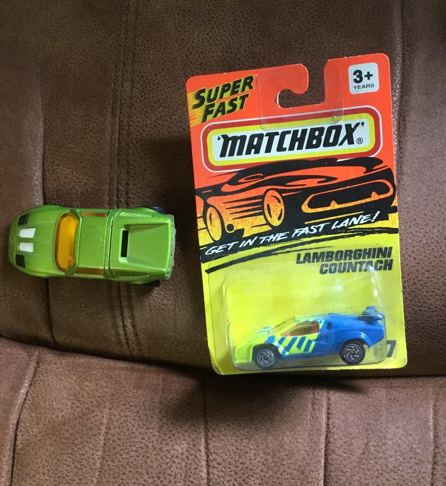 2 Vintage Matchbox Die-cast cars
