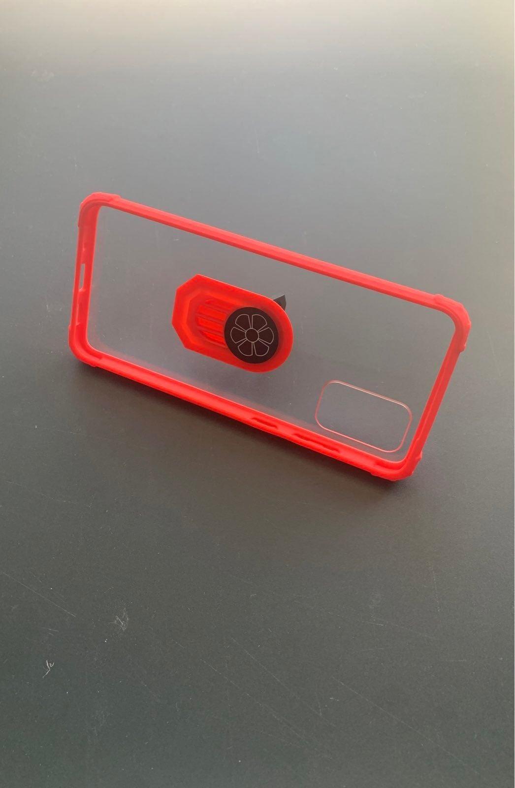 Samsung Galaxy S20+ Kickstand Ring Red