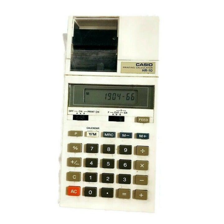 Vintage Casio HR-10 Printing Calculator