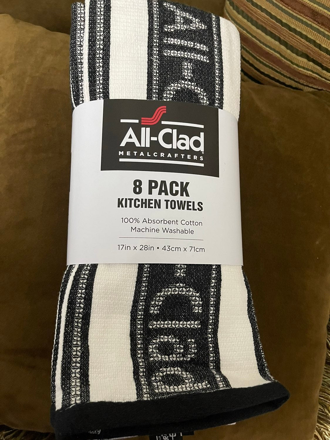 Brand New All Clad 8 pack Kitchen Towels