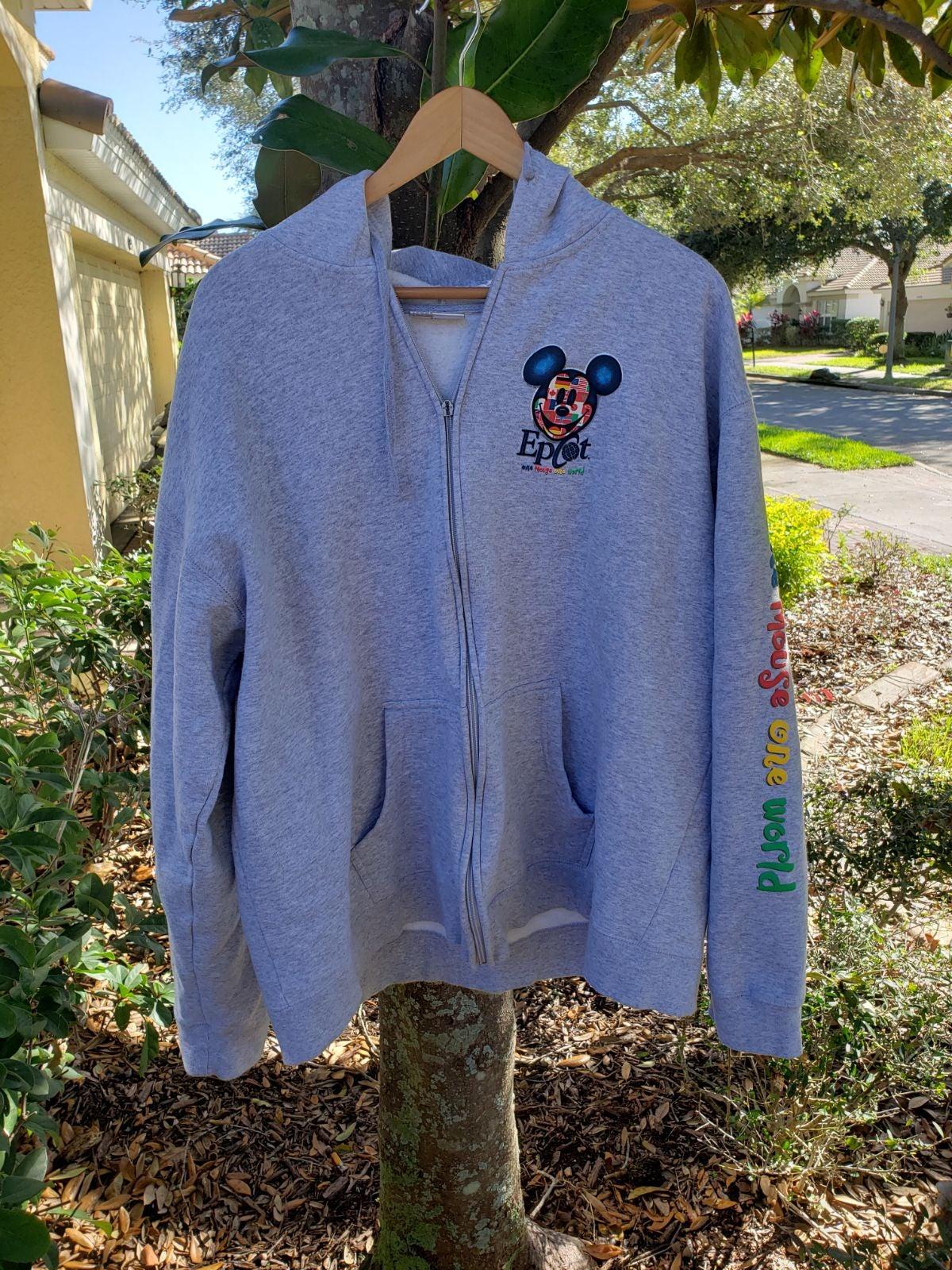 Disney epcot hoodie
