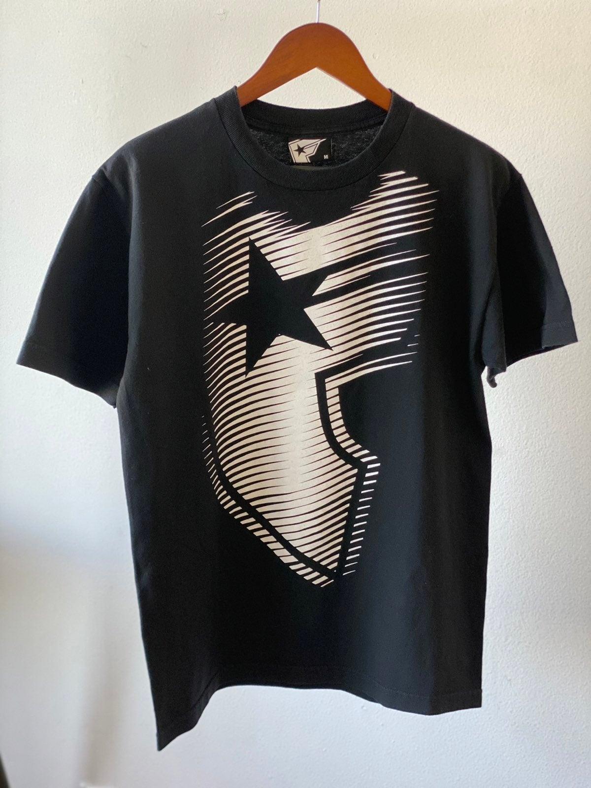 Y2K Famous Stars & Stripes Shirt Sz M