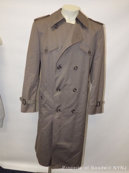 Christian Dior Mens Trench Coat Size 40R