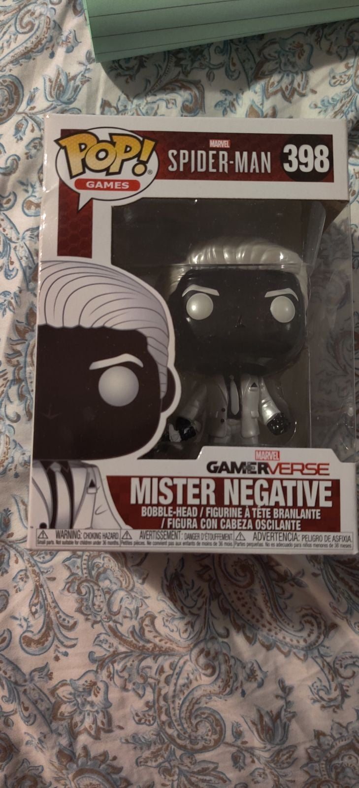 Mister Negative Funko Pop 398