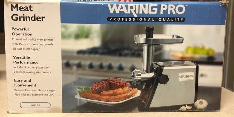 Waring Pro Meat Grinder