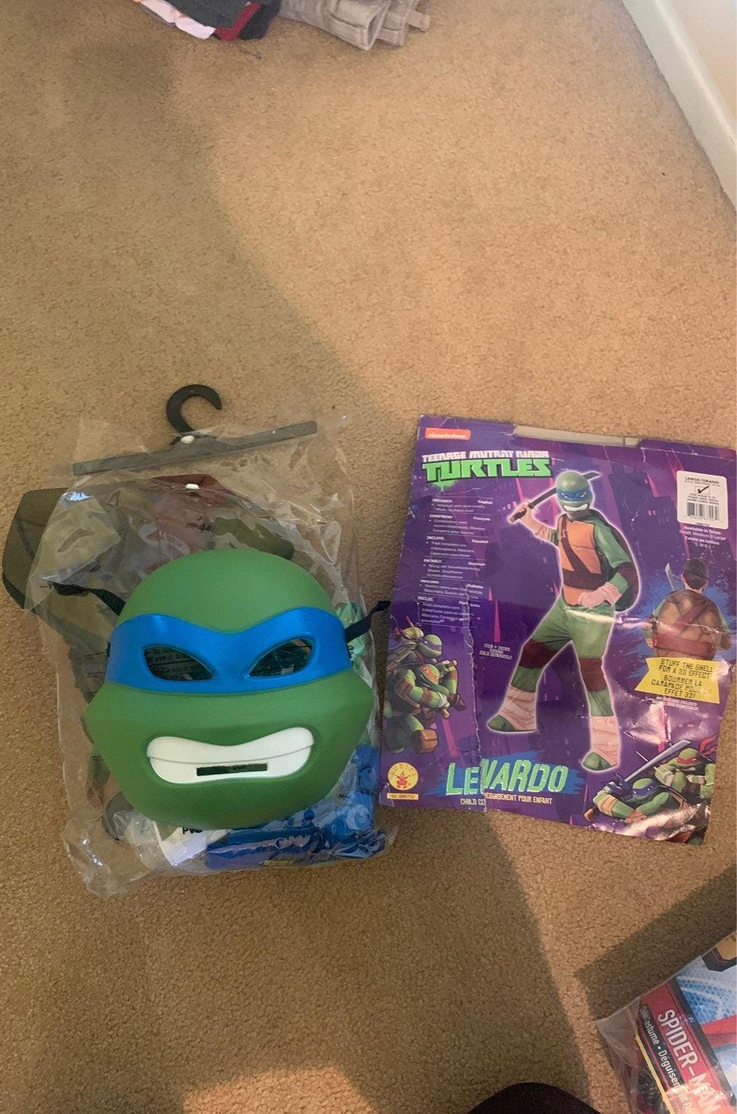 Teenage Mutant Ninja Turtles costume kid