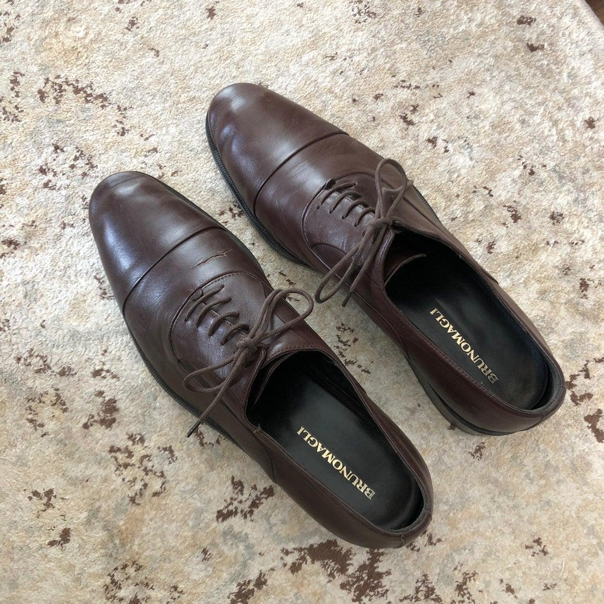 Bruno Magli Brown Dress Shoes