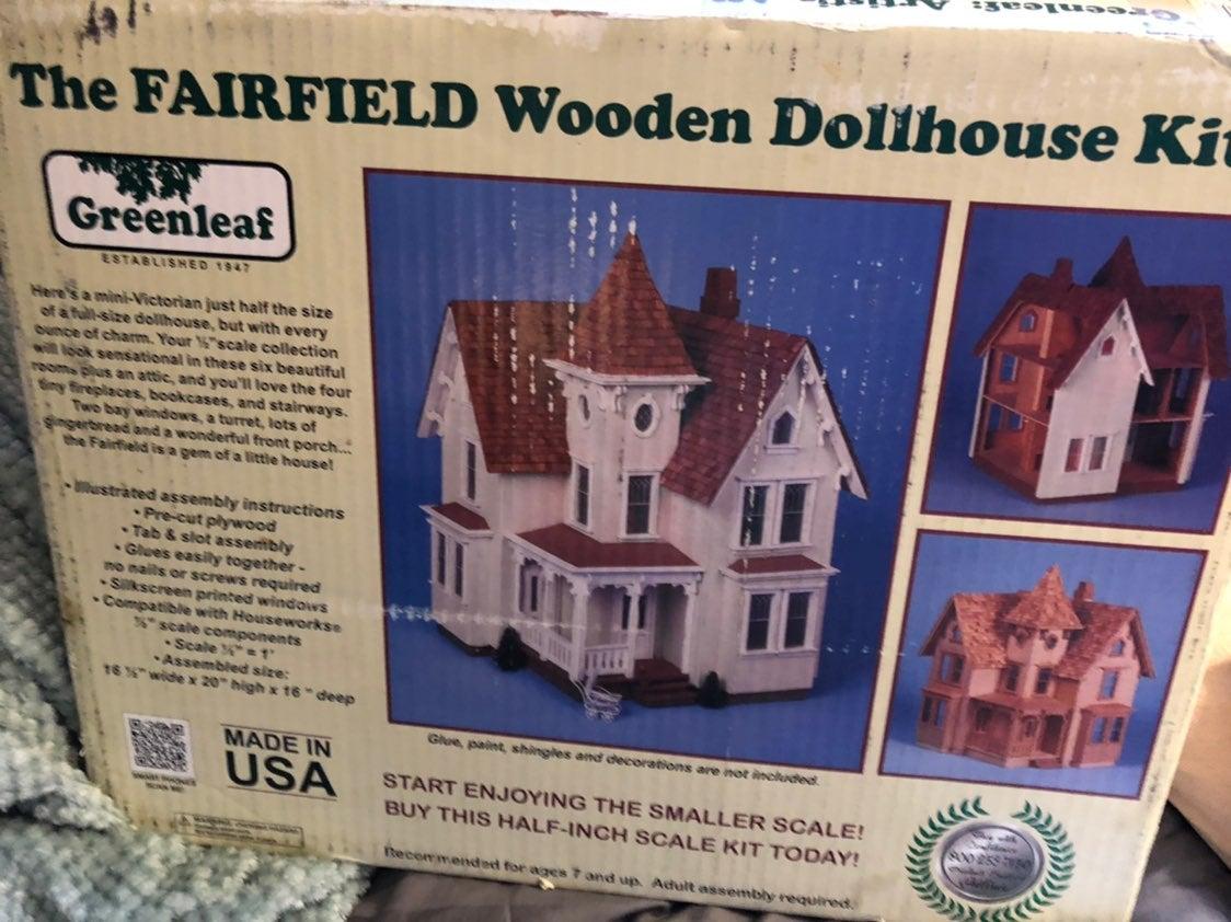 greenleaf wooden dollhouse fairfield