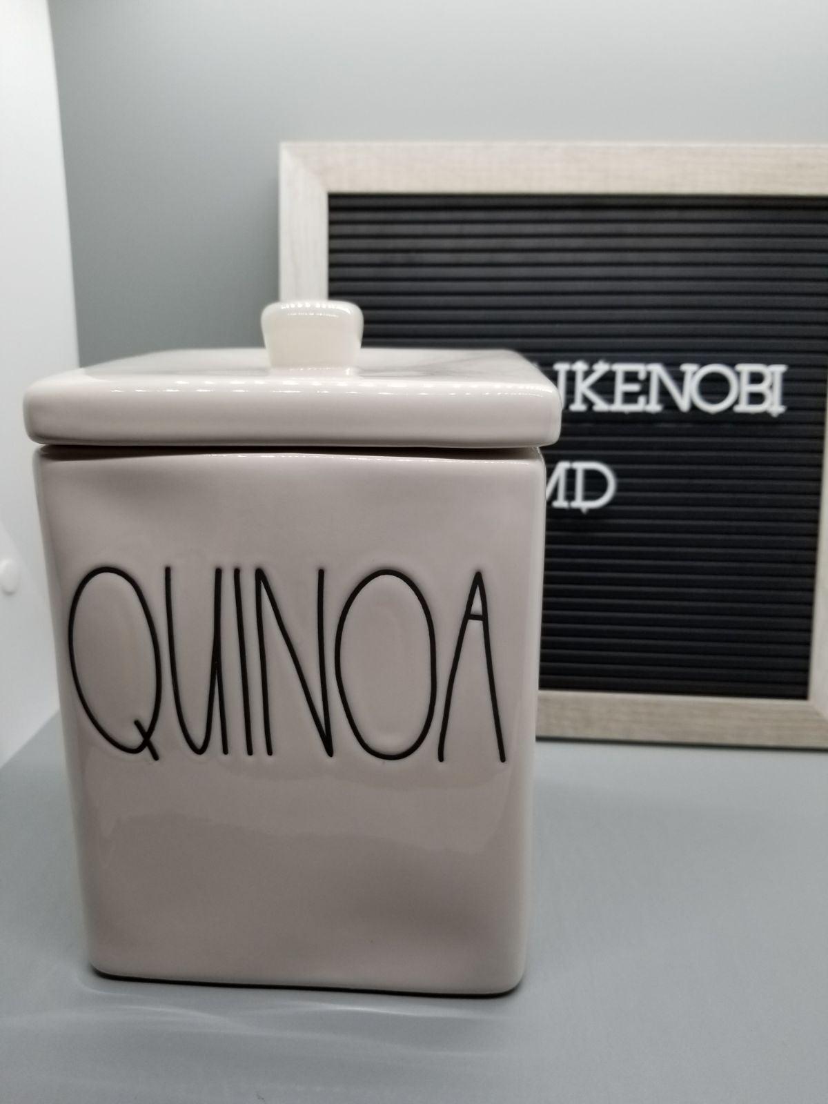 Rae Dunn Quinoa Canister