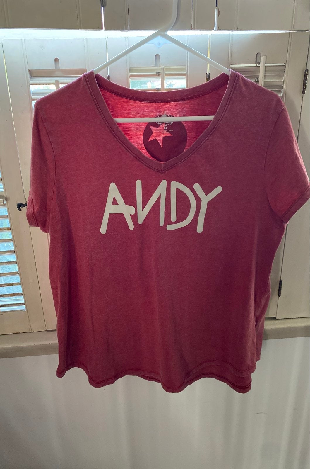 """Disney Toy Story """"Andy"""" shirt"""