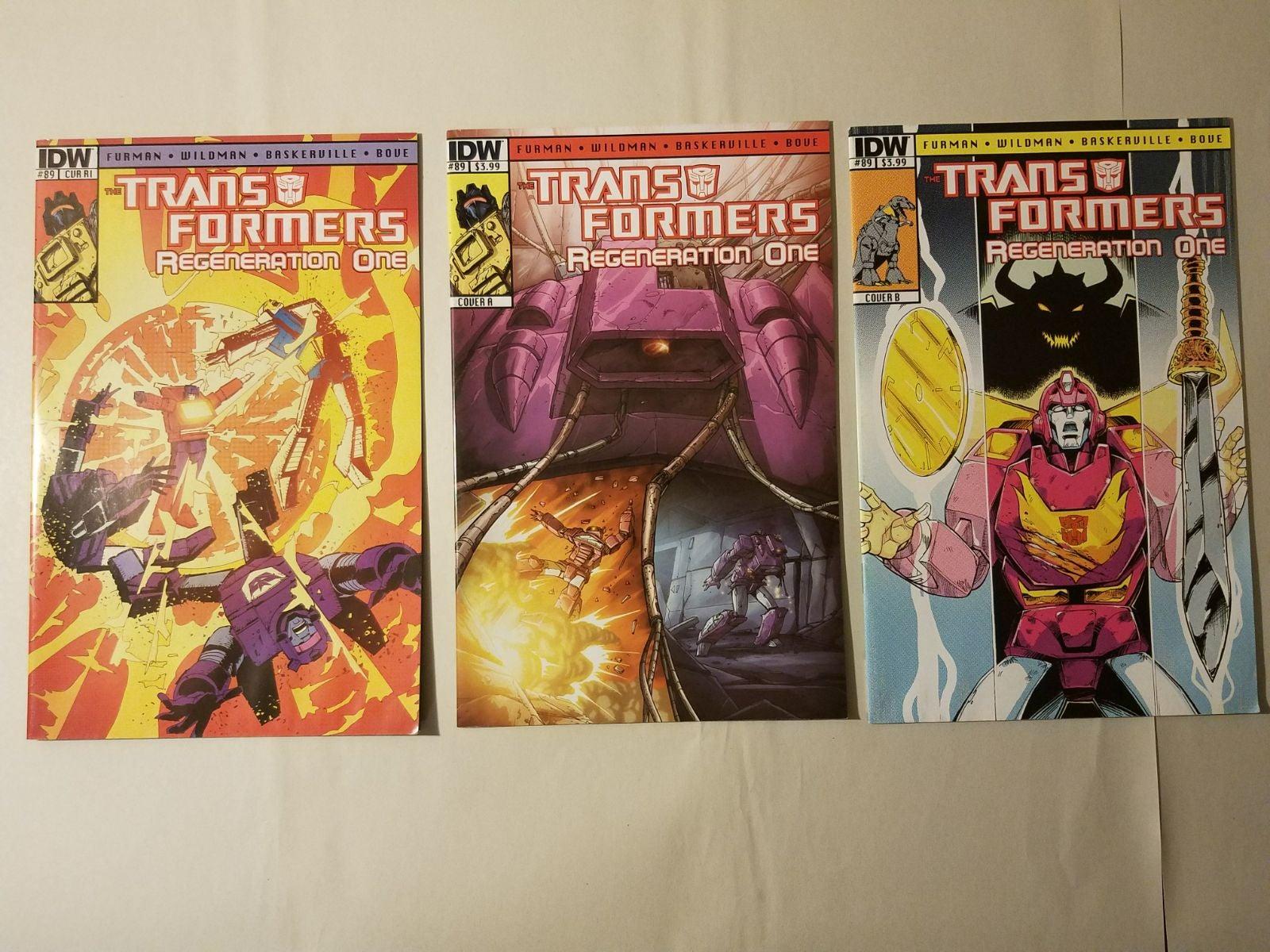 Transformers Regeneration One 89 lot