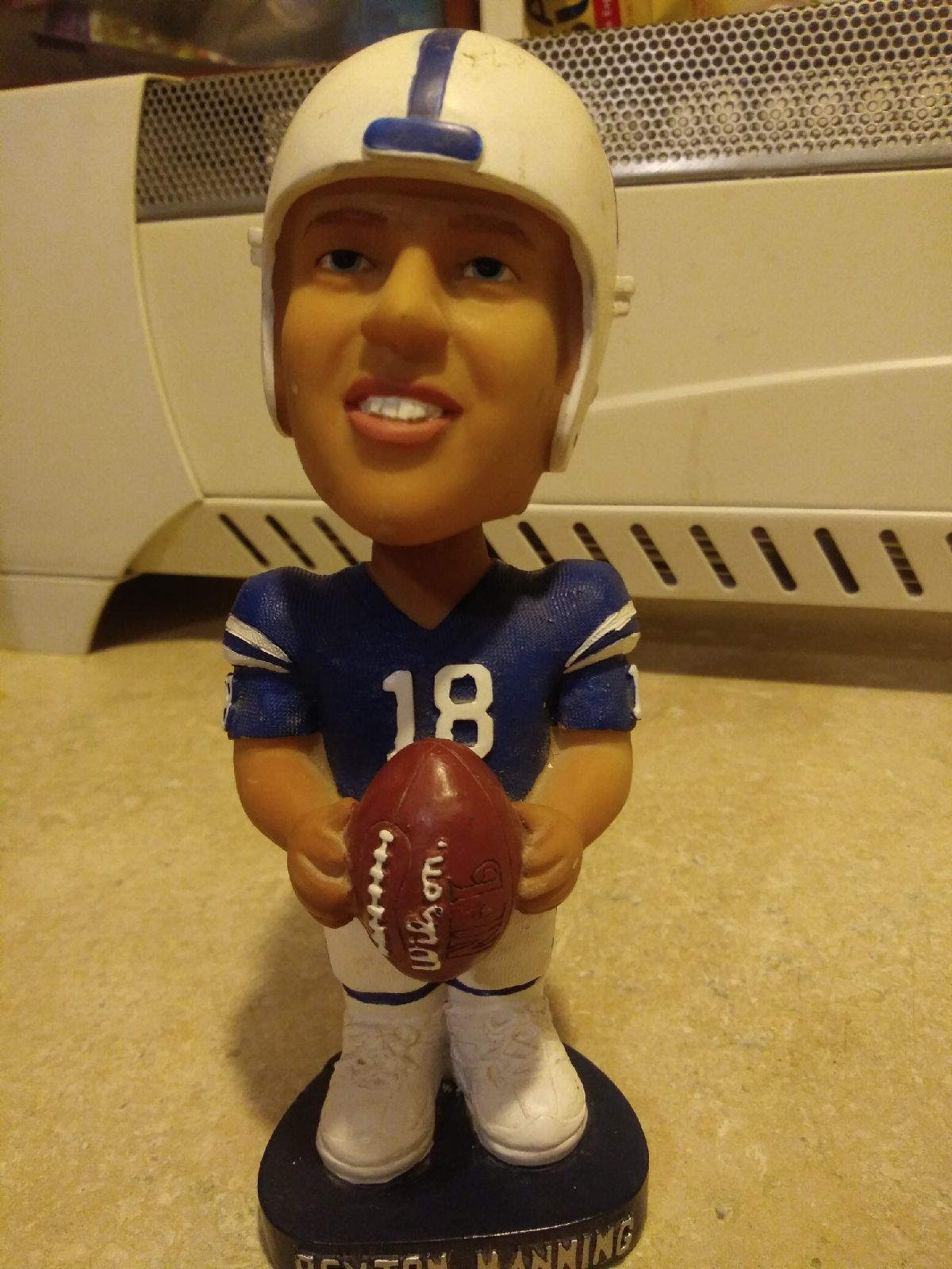 Bobblehead Colts #18 Manning