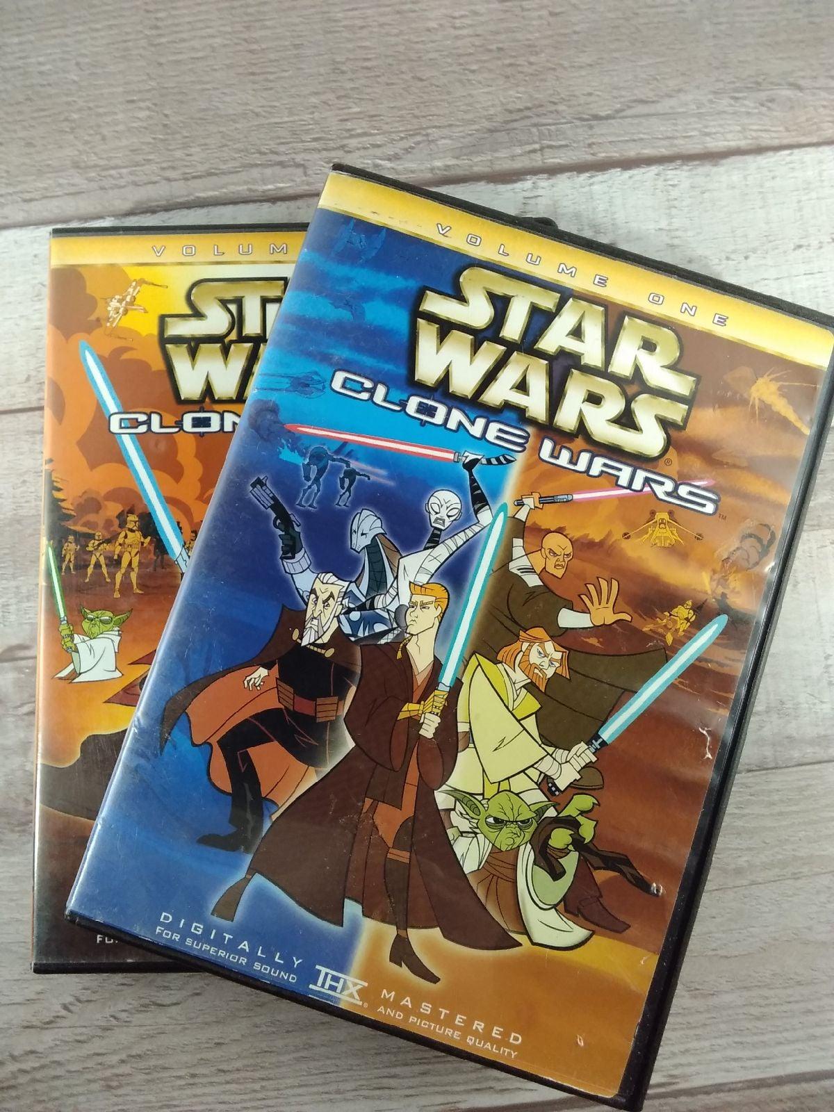 Star Wars Clone Wars Volume 1&2