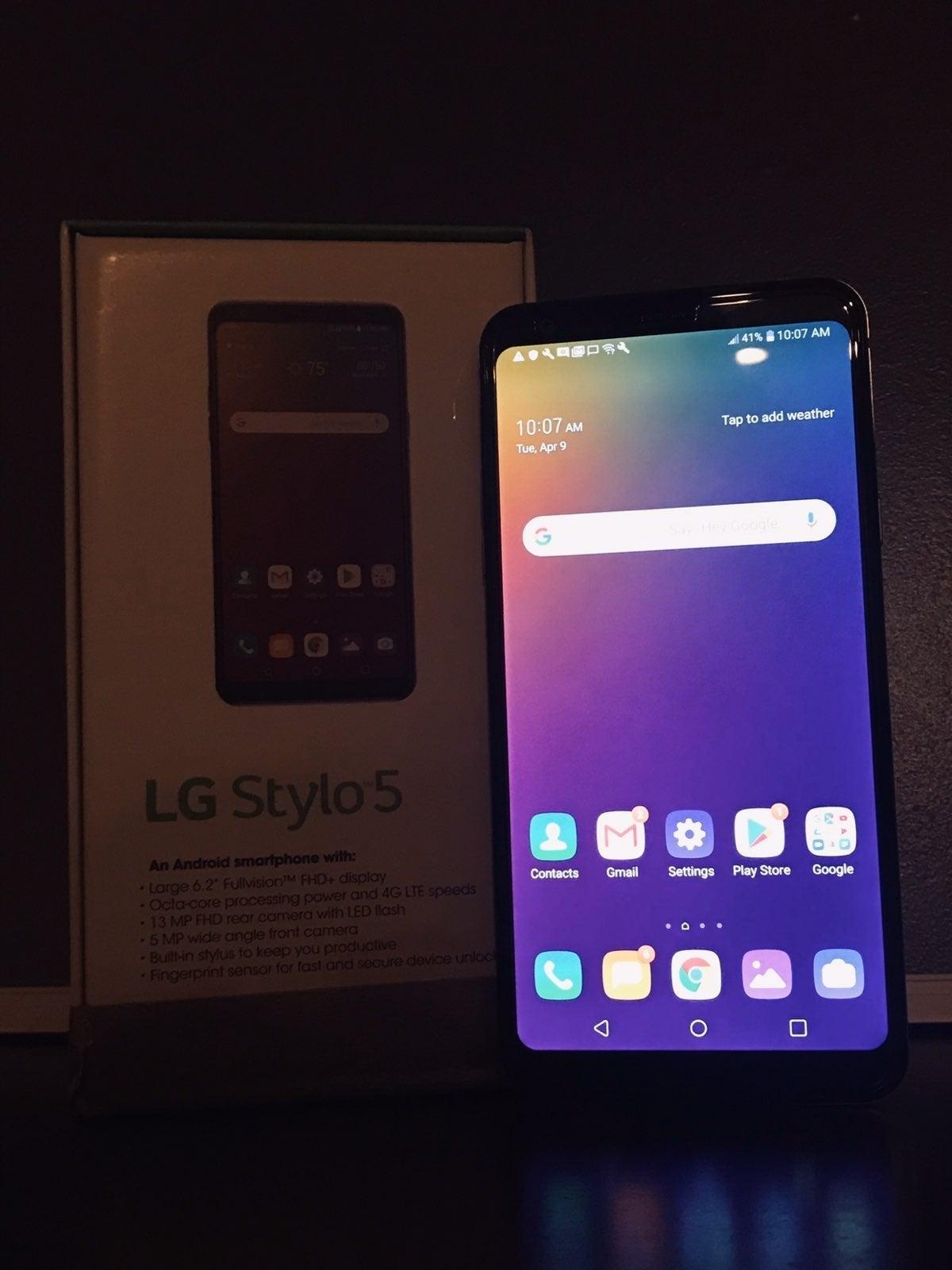 LG Stylo 5, 32GB, Cricket