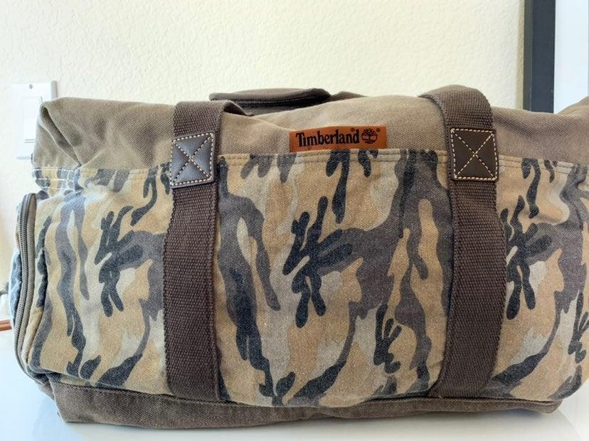 Rare Timberland Lamprey 19 Duffel Bag