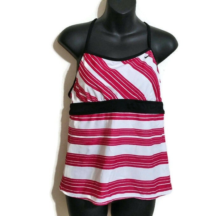 Women's Nike Tankini Swim Top Pink 14