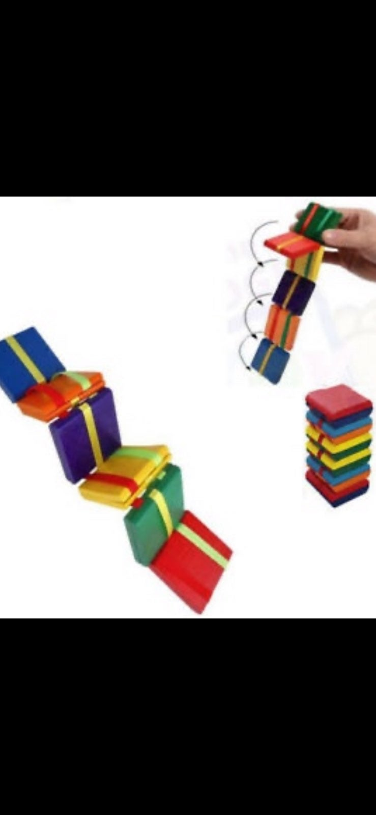Jacobs Ladder WOOD TOY
