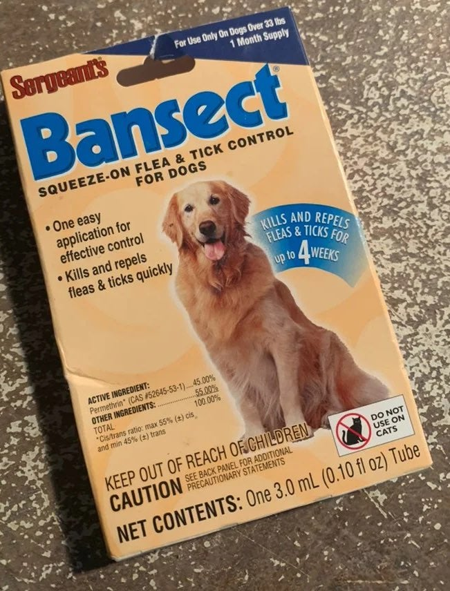 Bansect flea and tick prevention