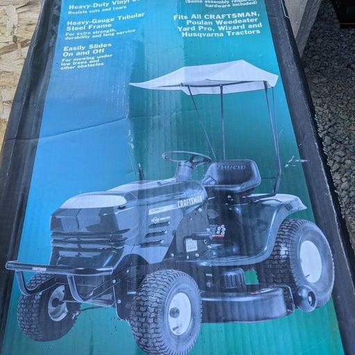 New Craftsman Riding Lawnmower Sun Shade