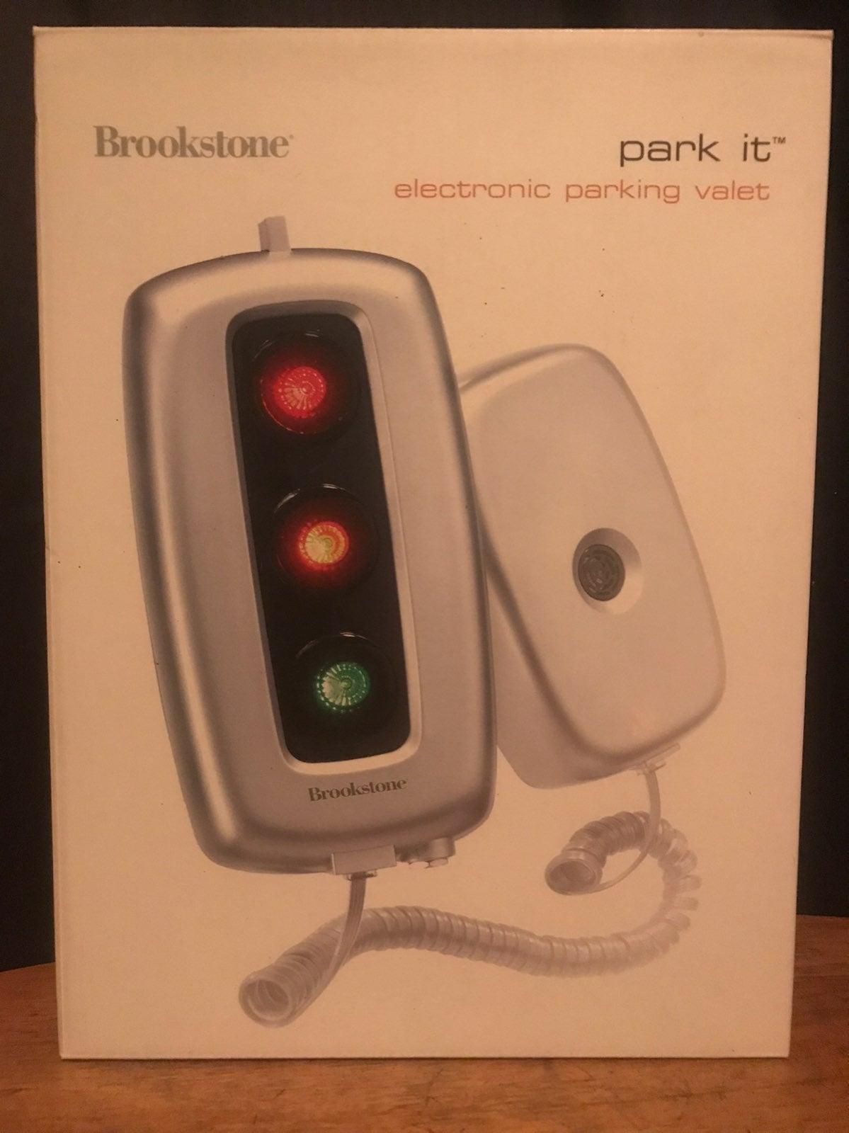 Brookstone Electronic Parking Valet