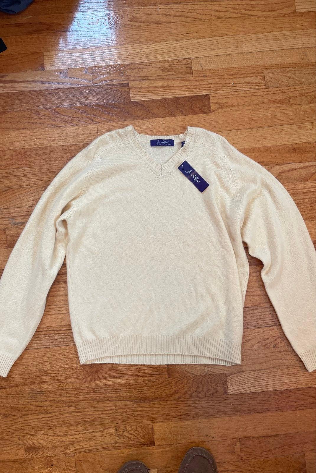 J Ashford Cashmere Sweater