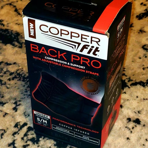 CopperFit Back Pro S/M