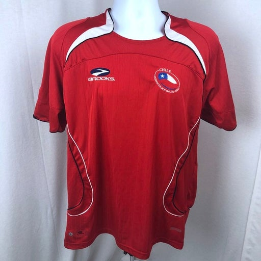 Rare Brooks Chile National Soccer Jersey