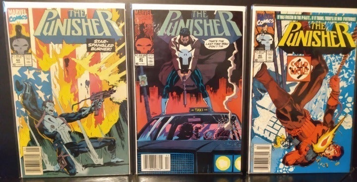 The Punisher (1987) Assrtd Lot (25)