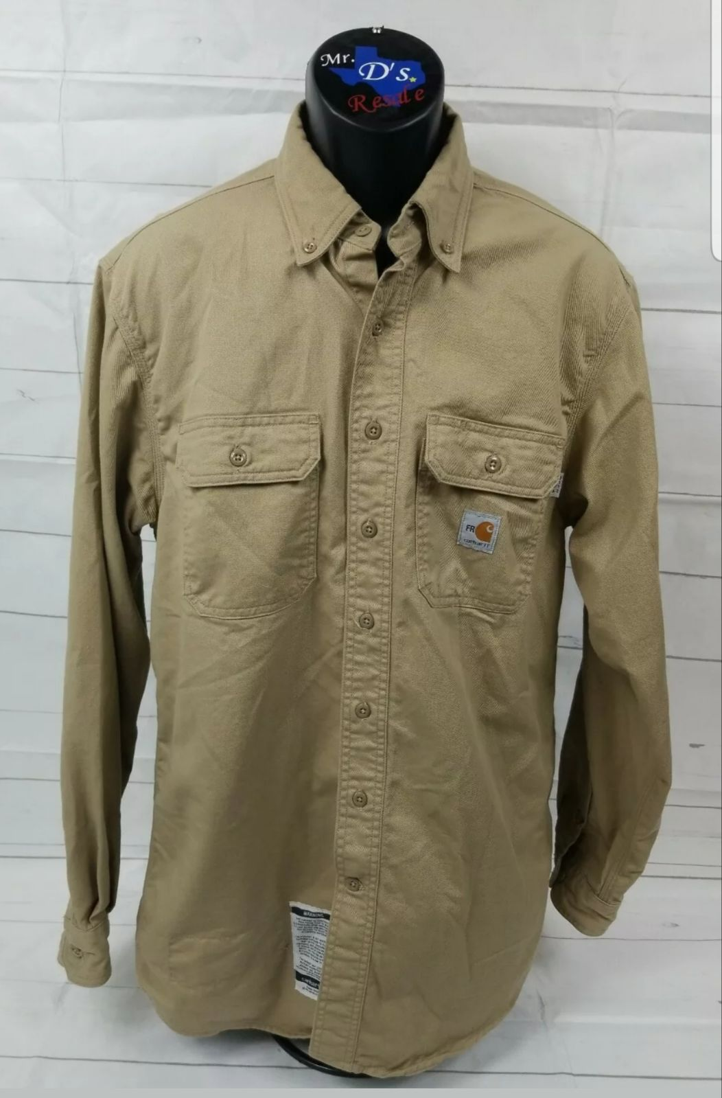 Carhartt FR Flame Resistant Button Front