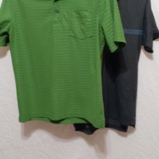 Menˋs set of two Shirts Golf Style Sz M