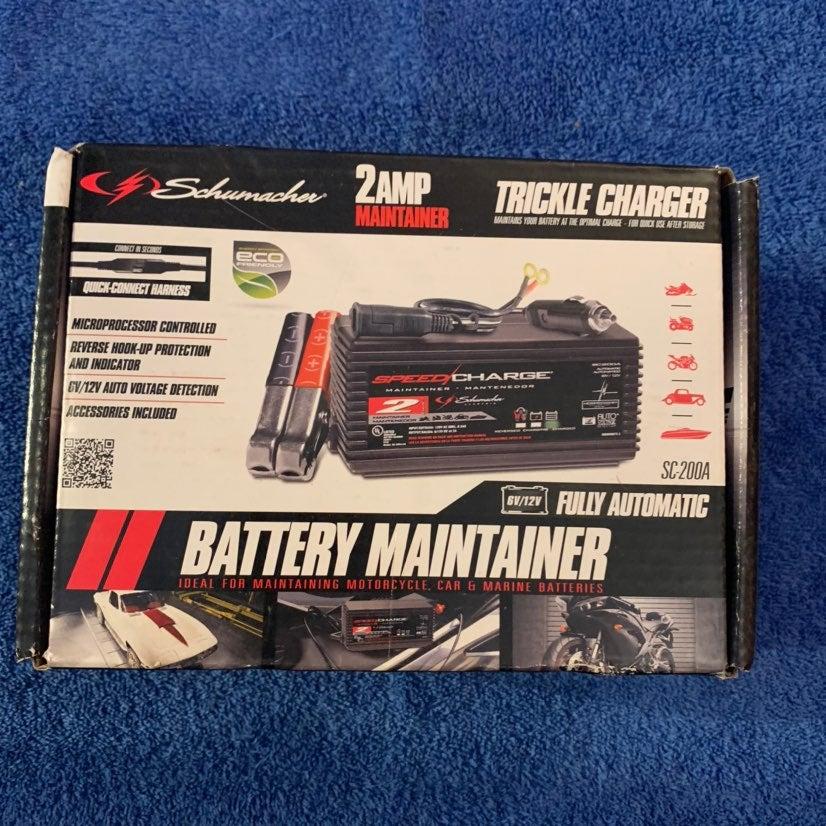 New, Battery Maintainer Schumacher