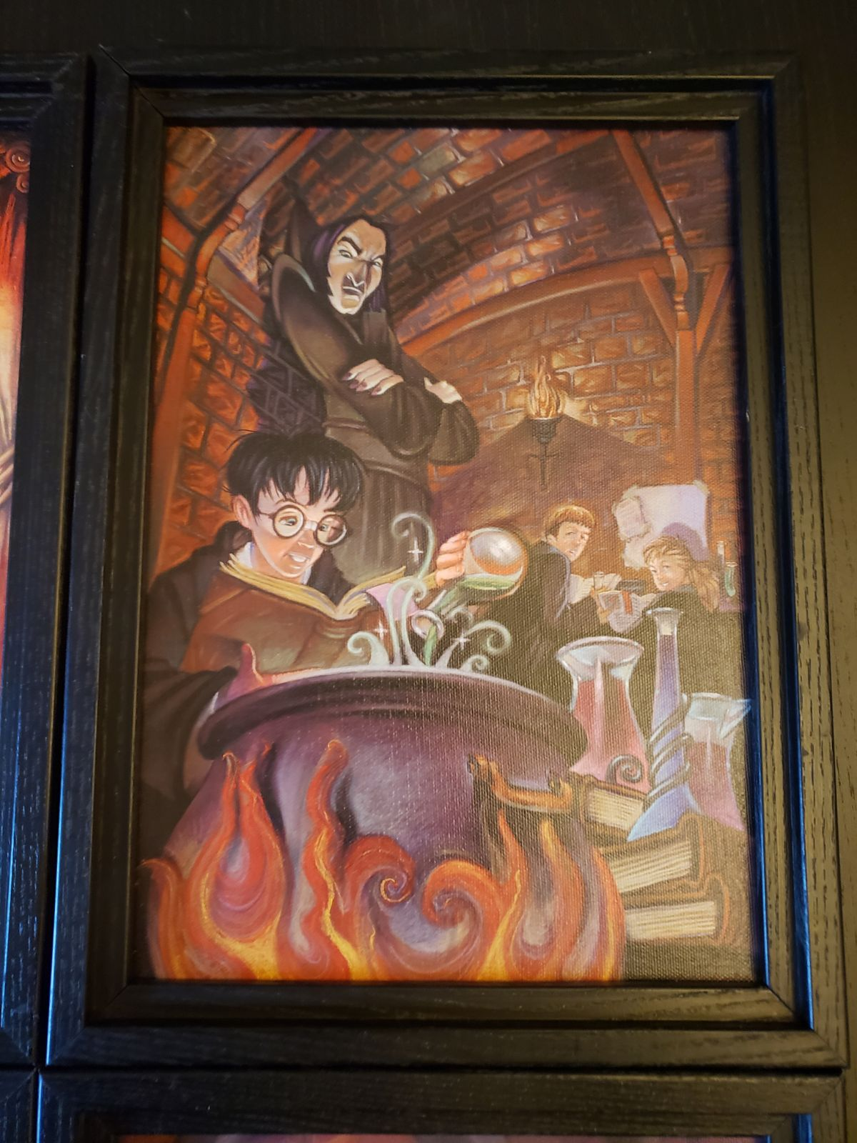 Harry Potter Framed Print collection