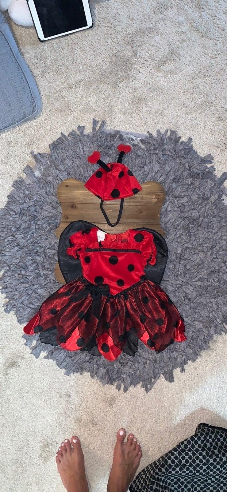 baby halloween costume, Lady Bug