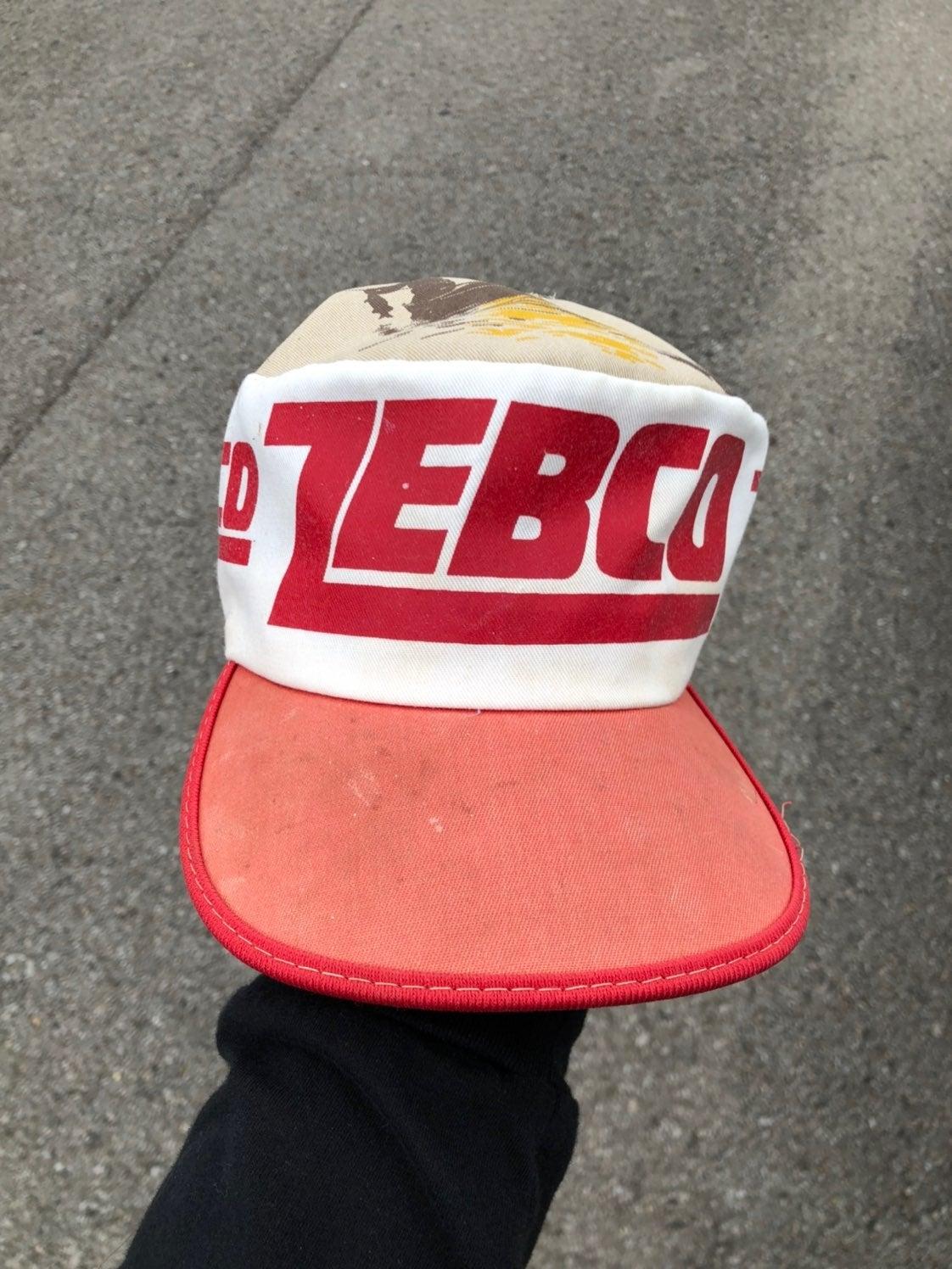 Vintage Zebco Fishing Hat