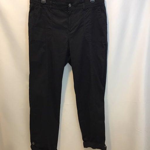 Croft & Barrow Black Stretch Pants 12