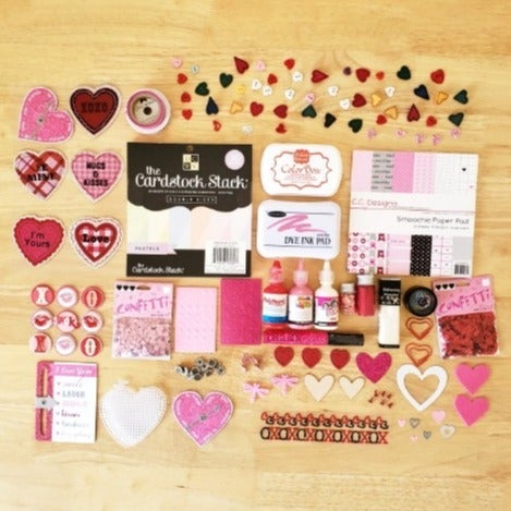Hearts & Love Papercrafting Bundle