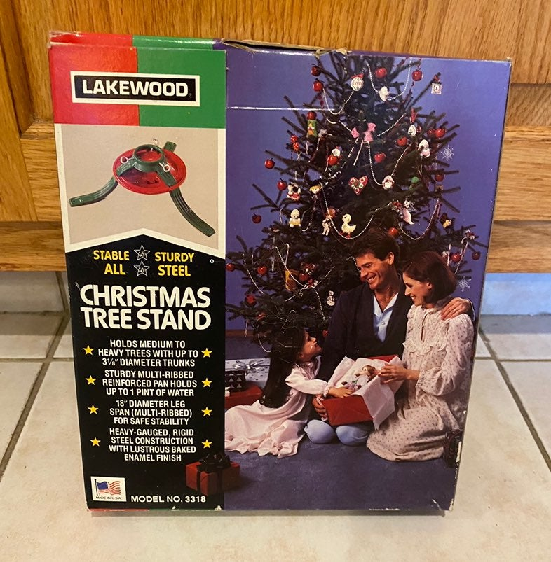 VINTAGE LAKEWOOD Christmas Tree Stand
