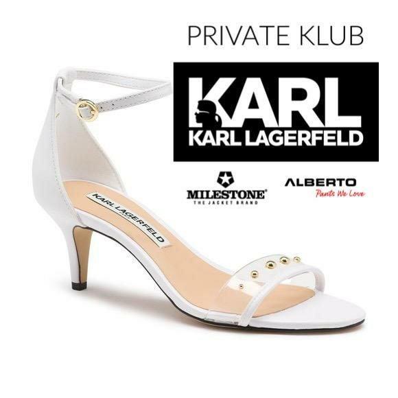 Karl Lagerfeld NEW sandals us 8