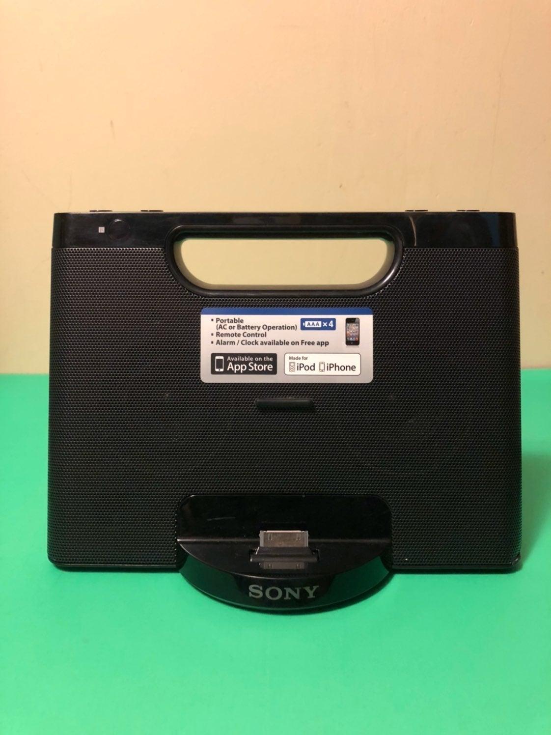 Sony RDP-M7iPN Lightning iPhone/iPod