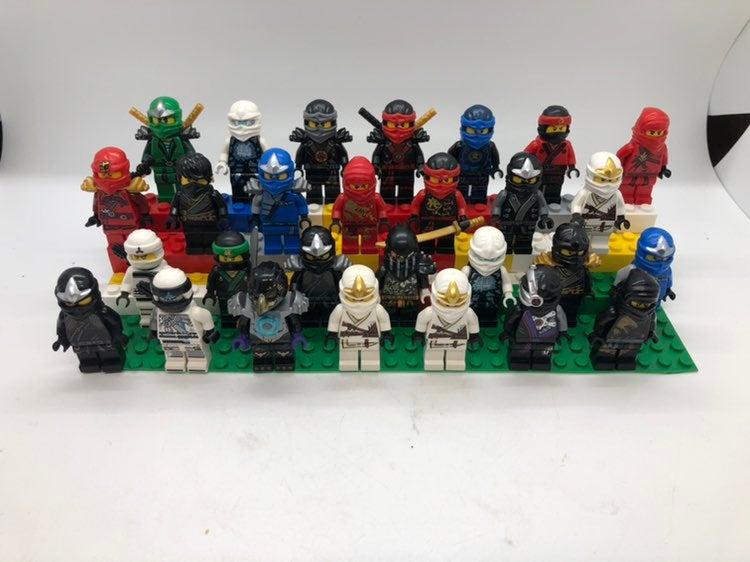LEGO Ninjago Minifigure Lot