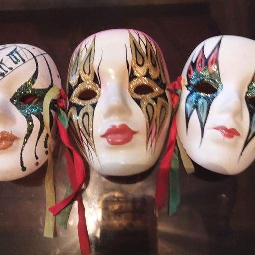 Rock and roll masks bundle
