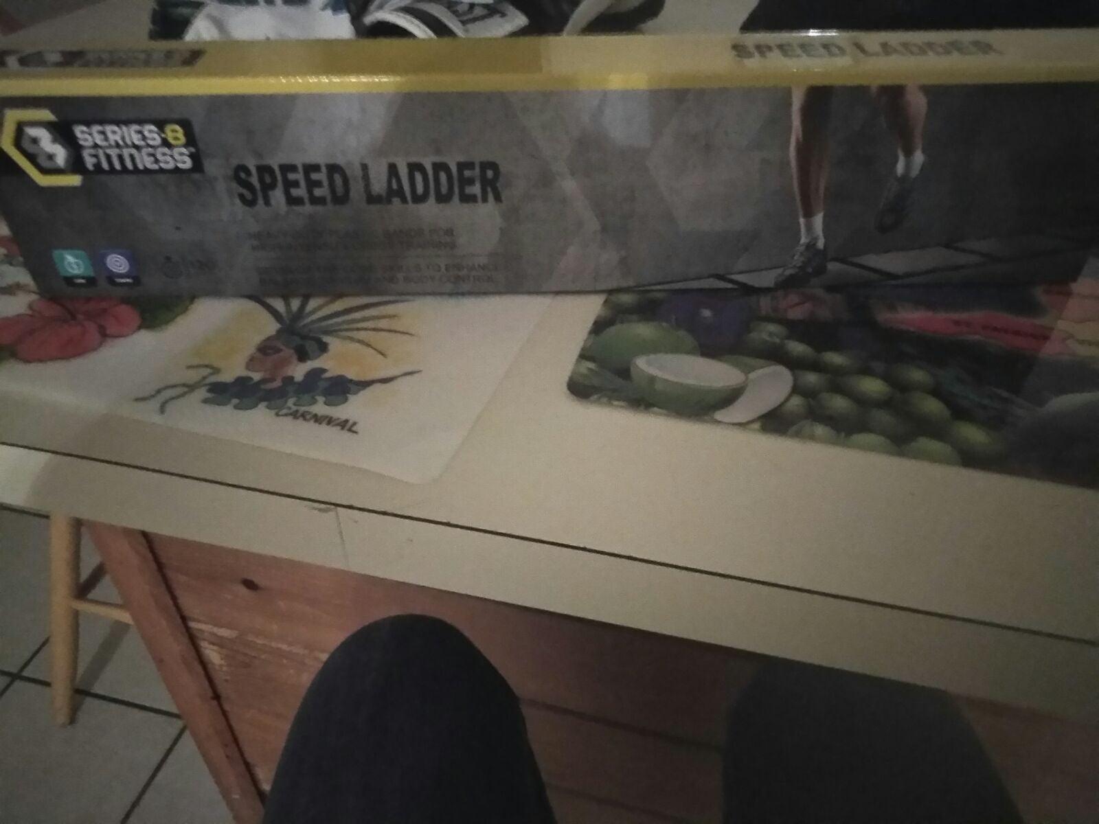 Exercise speed ladder