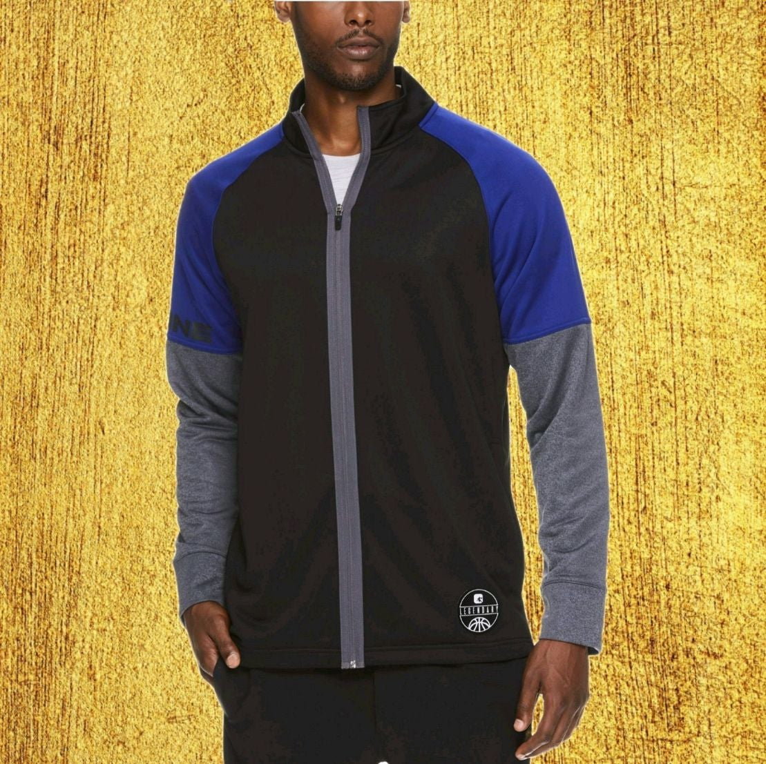 AND1 Men's Full Zip Warm Up Track Jacket
