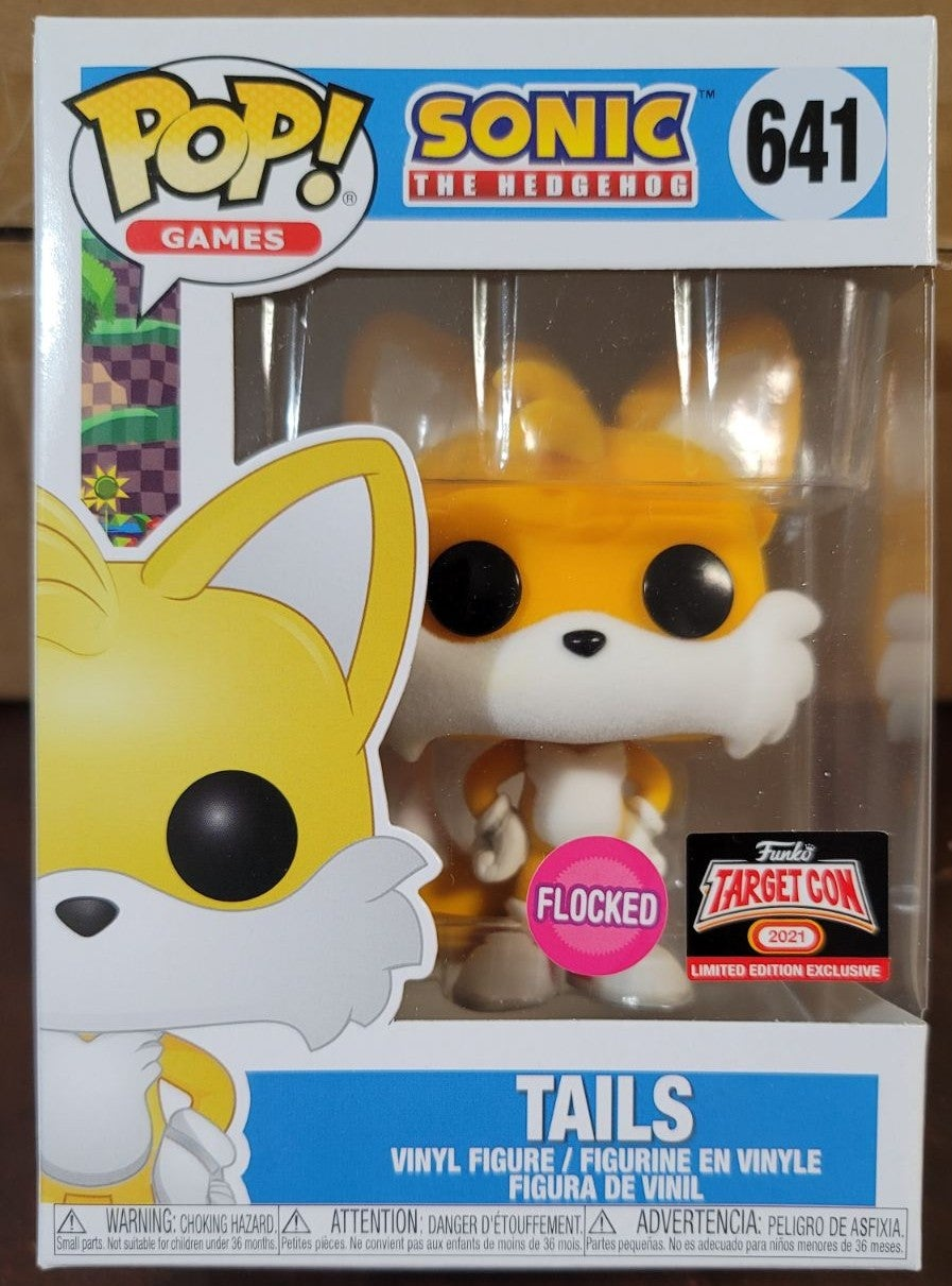 Funko Pop Target Con Flocked Tails